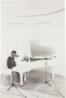 Beatles - John Lennon Signed Imagine Poster (197