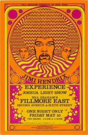 Jimi Hendrix Experience, Fillmore East, New York