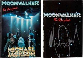 Michael Jackson Signed Moonwalker - The Storyboo