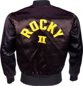 """A Crew Jacket Related To """"rocky Ii."""" United Arti"""
