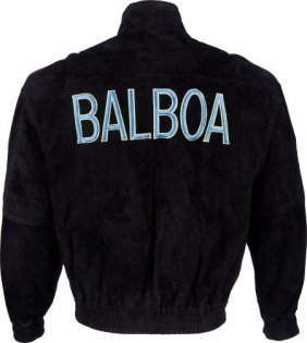 "A Crew Jacket Related To ""rocky V."" Metro-goldwy"
