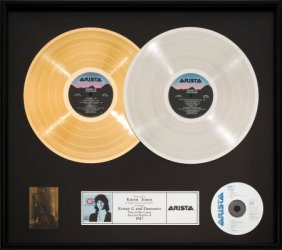 Kenny G Duotones Gold/platinum Award (arista Al-