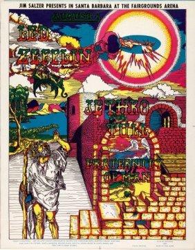 Led Zeppelin/jethro Tull Santa Barbara Fairgroun