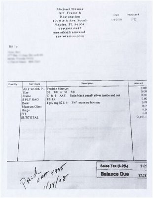 Ronnie Wood Prices - 130 Auction Price Results