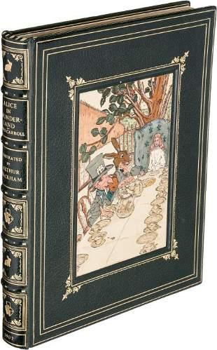 45294: [Arthur Rackham, illustrator]. Lewis Carroll. Al