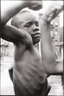 73316: Leonard Freed (American, 1929-2006) Muscle Boy,
