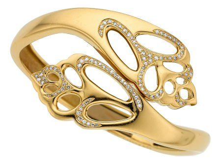 Diamond, Gold Bracelet, Angela Cummings for Tiff