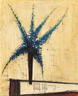 69010: Bernard Buffet (1928-1999) Delphinium bleus, 196