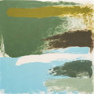 69214: Friedel Dzubas (1915-1994) Northern Cool, 1975 A