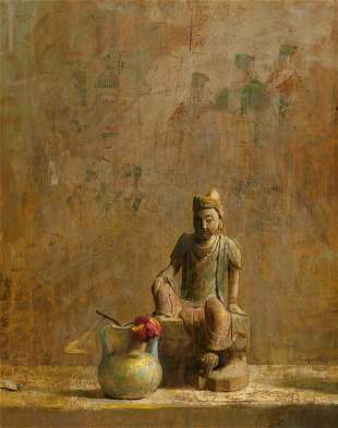 68086: Hovsep Pushman (American, 1877-1966) Eternal Des