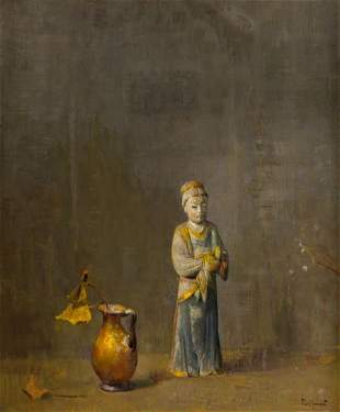 68087: Hovsep Pushman (American, 1877-1966) Idyll Fancy