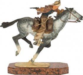 Harry Jackson (american, 1924-2011) Pony Express