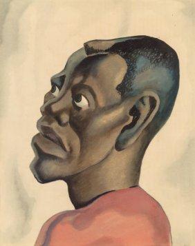 Thomas Hart Benton (american, 1889-1975) Negro H
