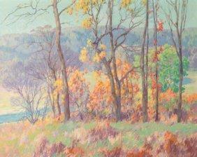 Maurice Braun (american, 1877-1941) Autumn Tints