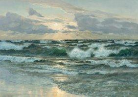 Lionel Walden (american, 1861-1933) Sunrise On T