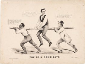 Abraham Lincoln: Racist Currier & Ives Cartoon.