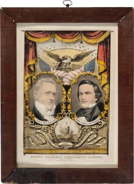 42048: Buchanan & Breckinridge: Grand National Banner.