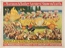 42197 1903 Barnum  Bailey Circus Poster Featuring the