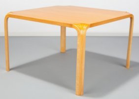 Alvar Aalto (finnish, 1898-1976) Fan Table, Circ