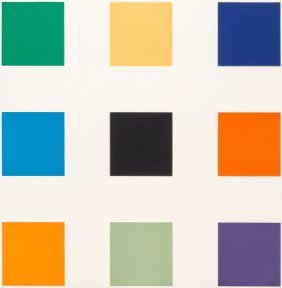 Ellsworth Kelly (1923-2015) Nine Squares, 1976-7
