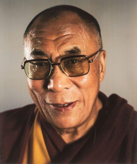 69024: Chuck Close (b. 1940) Dalai Lama, 2005 Digital p