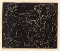 69191: Pablo Picasso (1881-1973) Le peintre et son modè