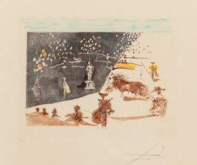 Salvador Dalí (1904-1989) Tauromachie Surréalist