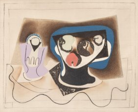 After Pablo Picasso (1881-1973) La Verre D'absin