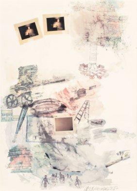 Robert Rauschenberg (1925-2008) Lichen, 1972 Off