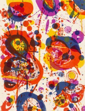 Sam Francis (1923-1994) Out Of My Coffin (sf-44)
