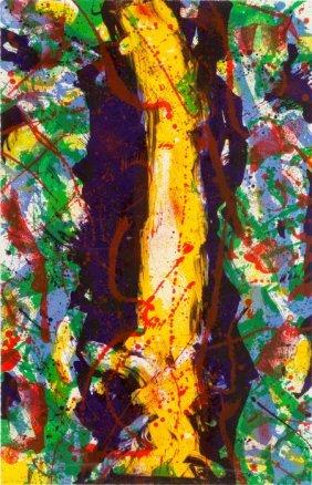 Sam Francis (1923-1994) Untitled (sf-343), 1990