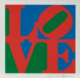 Robert Indiana (american, B. 1928) The American