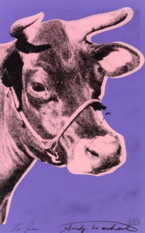 Andy Warhol (1928-1987) Cow, 1976 Screenprint In