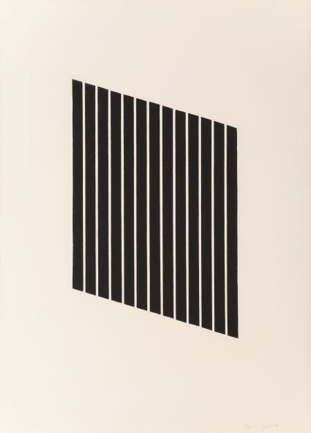 69088: Donald Judd (1928-1994) Untitled, 1974 Aquatint