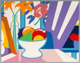 Tom Wesselmann (1931-2004) Still Life With Lilie