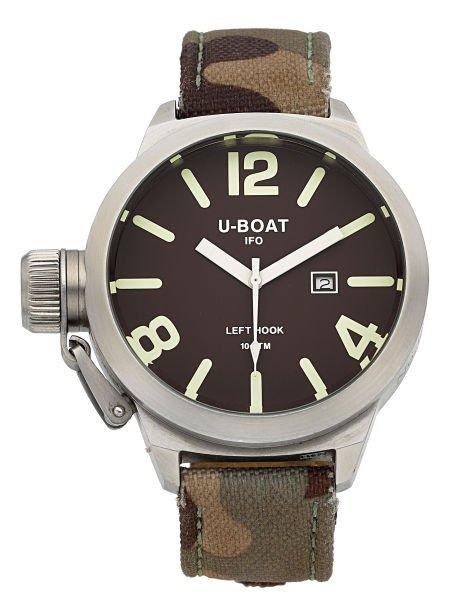 56062: Italo Fontana U-Boat Left-Hook B45-08 Wristwatch