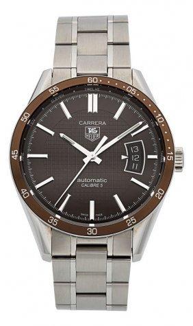 Tag Heuer Calibre 5 Carrera Automatic Wristwatch