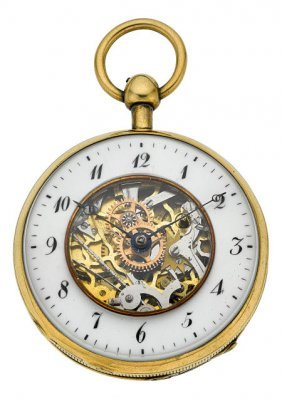 Swiss Skeletonized Quarter Repeating Verge Fusee