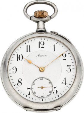 Armin, Swiss Pocket Watch With One-minute Tourbi
