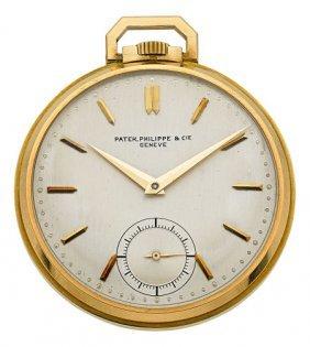 Patek Philippe Gent's Gold Pocket Watch, Circa 1