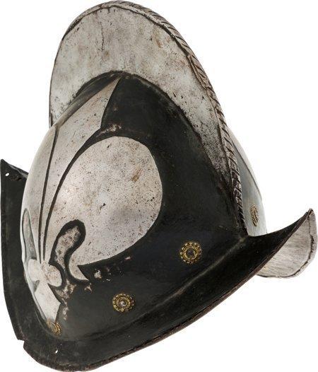 40003: Presumed German Civil Guard Morion, Circa 17th C