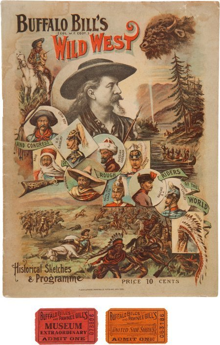"51006: William F. ""Buffalo Bill"" Cody: 1894 Wild West S"