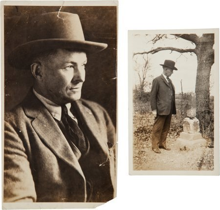 51016: Texas Ranger James B. Gillett Photograph Taken a
