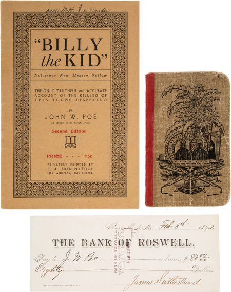 51023: Lincoln County War: John W. Poe & Billy the Kid
