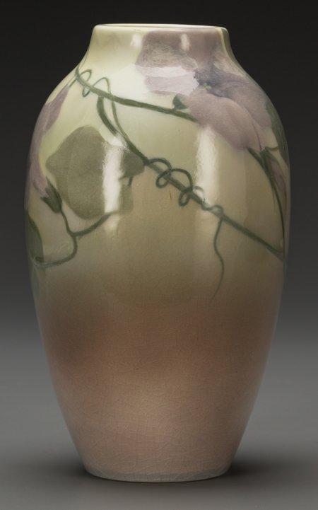64016: A Rookwood Standard Glaze Ceramic Morning Glorie