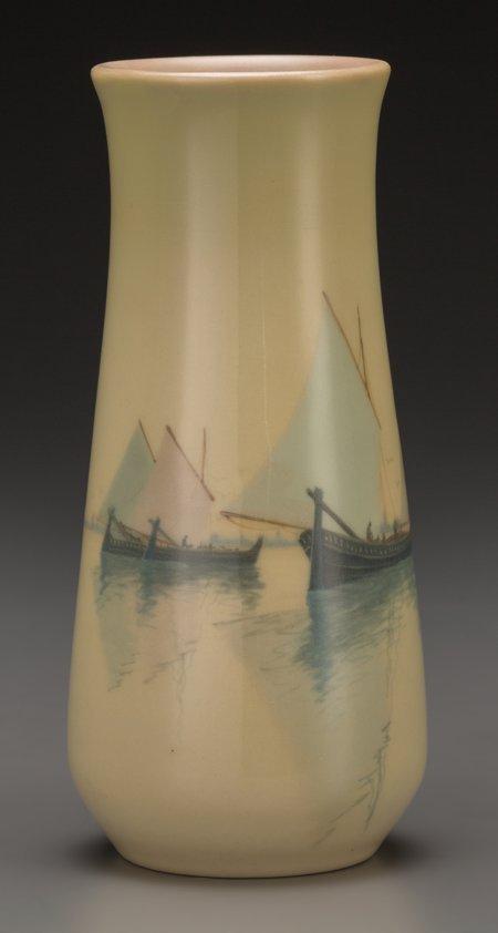 64017: A Rookwood Standard Glaze Ceramic Harbor Vase by