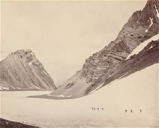 64811: Samuel Bourne (British, 1834-1912) Manirang Pass