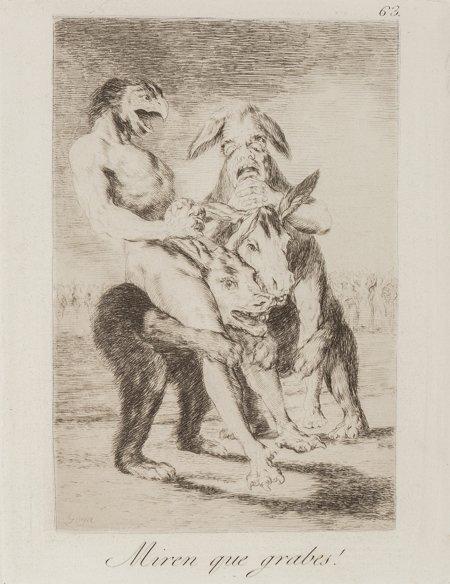 65100: After Francisco José de Goya y Lucientes Los cap