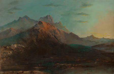 65102: Manner of Allaert van Everdingen  Mountainous la