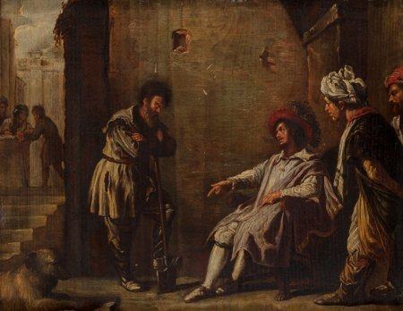 65103: After Domenico Fetti  Laborers in the Vineyards